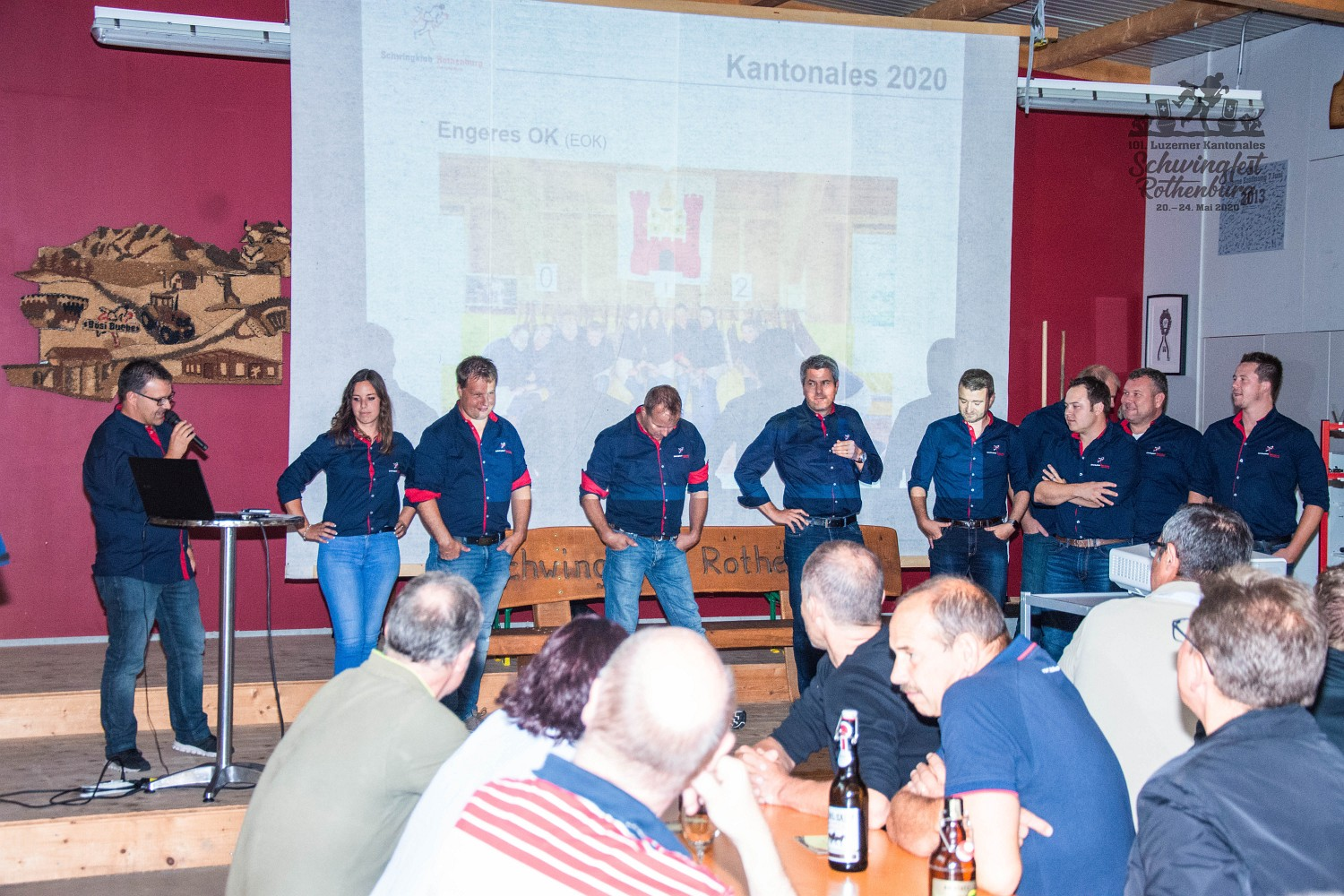 101. Luzerner Kantonale Schwingfest 2020 in Rothenburg, Kick-Off