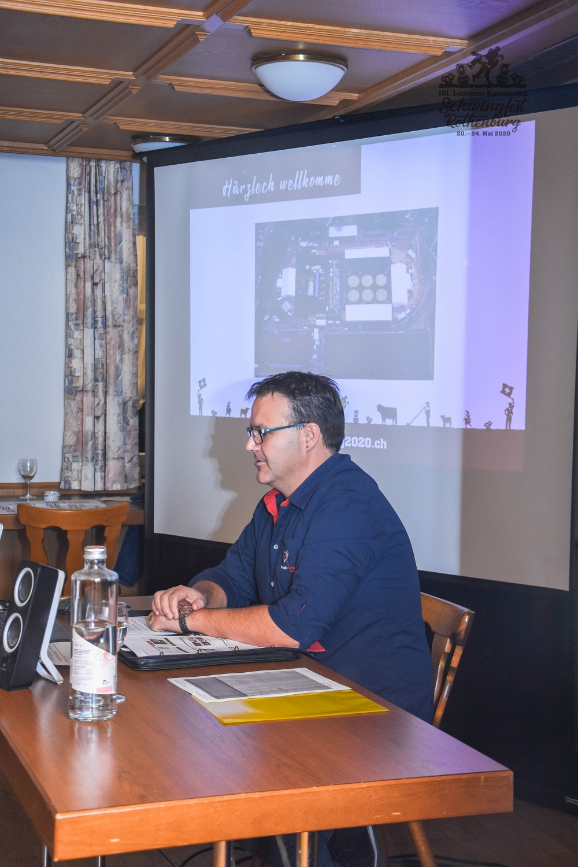 101. Luzerner Kantonale Schwingfest 2020 in Rothenburg GOK Sitzung